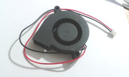 50pcs 2 Wires DC 5015S 50mm x 15mm 12V Brushless Cooling Blower Fan on Sale