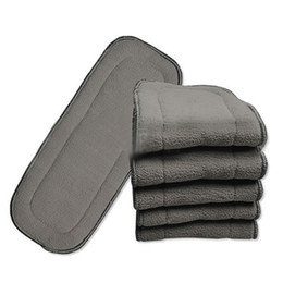81fe269ba Discount baby liner pads - Bamboo Charcoal Liner Insert 4 Layer For Baby  Diaper Natural Bamboo