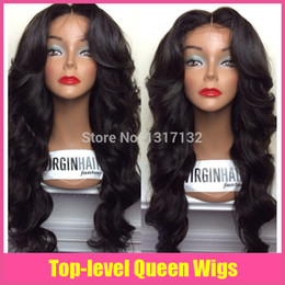 $enCountryForm.capitalKeyWord UK - 2015 best selling full lace wig body wave by Virgin Human Hair Full lace wig  Lace Front Wig With Baby Hair in Stock !!!