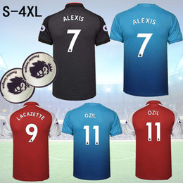 54484502ce0 online shopping Discount cheap new Lacazette Alexis Thai Quality Soccer  Jerseys tops various Bellerin Ramsey Ozil