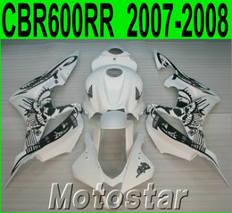 Honda Custom Parts Australia - Injection molding motorcycle parts for HONDA fairings CBR600RR 2007 2008 black white custom fairing kit CBR 600RR F5 07 08 LY35