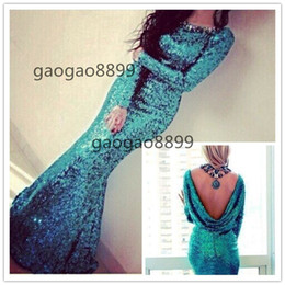 $enCountryForm.capitalKeyWord Canada - 2019 Peacock Turquoise Long Sleeve country mermaid Bridesmaid Dresses Sexy plus size cheap cowl maid of honor Wedding Party Dresses