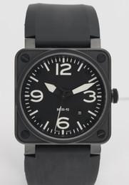 Venta al por mayor de Hombres calientes de la venta Movimiento automático de lujo Mecánico Relojes de pulsera de goma Negro Marca suiza Fecha Inoxidable Vestido para hombre Relojes Precios bajos