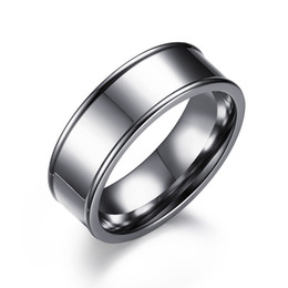 Chinese  Stainless Steel Rings New Fashion English Characters Carved Mens Rings Brand Men's jewellery Stainless Steel Jewelry Men's Rings manufacturers
