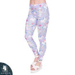 591ace2af Leggings women butterfLy online shopping - DHL FREE Leggings Women Rainbow  Legings Unicorn Rainbow Butterflies Printing
