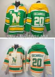 Authentic Vintage Hockey Jerseys Canada - Minnesota North Stars Vintage  20  Dino Ciccarelli Winter Hooded 95c2b55f88f