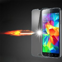 Lcd Glass For Galaxy S5 Canada - Luxury Box Gorilla Tempered Glass LCD Screen Film PROTECTOR Screen Guard With Retail Box FOR Samsung Galaxy S3 S4 S5 I9600 Note 2 Note 3