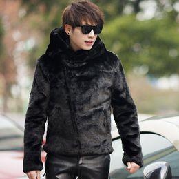 Men S Black Mink Fur Coat Online | Men S Black Mink Fur Coat for Sale