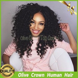 $enCountryForm.capitalKeyWord Canada - 150 Density Kinky Curly Full Lace Wig Brazilian Virgin Human Hair Lace Front Wigs Unprocessed Remy Hair Kinky Curl Glueless Lace Wig