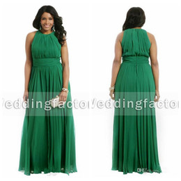discount plus size emerald green formal dresses | 2018 emerald