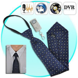 camera recorder 4gb Australia - Necktie pinhole Camera 4GB Tie Necktie mini camera DVR with Remote Control Neck Tie Pinhole camera mini camcorder digital video recorder