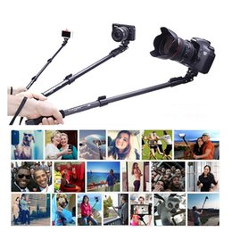 Cell Phone Monopod Canada - Extendable Handheld Portrait Self Timer Monopod Aluminum Alloy Selfie Stick For Digital Gopro Sport Camera and Cell Phone Yunteng 188