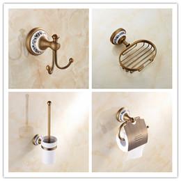 2017 brass bathroom accessories sets antique brass bathroom accessories four piece set towel closes hook