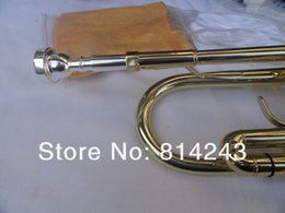 $enCountryForm.capitalKeyWord Canada - Bach TR700 Small Brass Bb Trumpet Gold The Paint Surface Instruments Of Brass Bb Trumpet With Case Gloves Cleaning Cloth