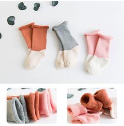 $enCountryForm.capitalKeyWord Canada - 0-6T Baby Boys Girls Winter Thick Socks Toddler Warm Terry Cotton Knee Socks Stockings Children Cute Sox
