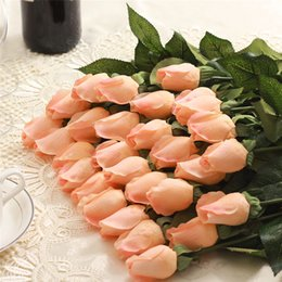 $enCountryForm.capitalKeyWord Canada - Sale 6 Color Wedding Flowers Bouquet Home Room DecorationsReal Touch Rose Artificial Silk for Wedding Party or Birthday
