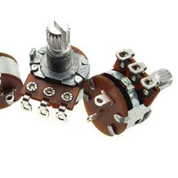 148 potentiometer with switch A103 A10k B10k B103 B504 B500K dimmer switches speed switch potentiometer on Sale