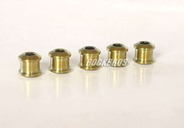 Bike Ti Canada - Rockbros Titanium Ti Crankset Chainring Bolts & Nuts Golden 5pairs lot