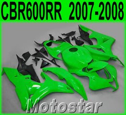 $enCountryForm.capitalKeyWord Canada - Customize motorcycle fairing kit for HONDA Injection molding CBR600RR 2007 2008 fairings CBR 600RR F5 07 08 green black set KQ97