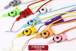 Discount nylon cord strap - Detachable Lanyard Sling Finger Ring for CellPhone Neck Fashion Universal Hanging Rope Nylon strap Cord Line for iphone