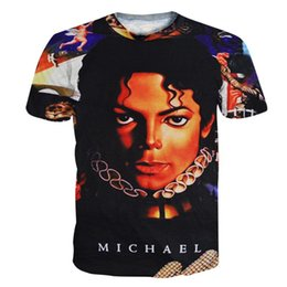 $enCountryForm.capitalKeyWord Canada - w1208 Alisister Rock t shirt Michael Jackson clothing mens t shirts fashion 2015 harajuku Short Sleeve Printed 3d character tee Shirts