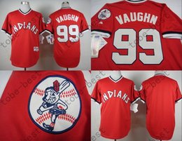... 2015 Indians 99 Ricky Vaughn Jersey Mens Shirts Red 1974 Turn Back  Stitched Authentic Baseball Jerseys ... 5d0972e5a