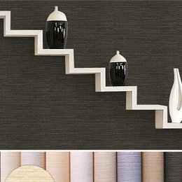 straw modern vinyl wallpaper roll solid color embossed pvc wallpaper classic bedroom textured waterproof w041 textured deals