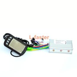 Venta al por mayor de Pantalla LCD para bicicleta eléctrica con controlador de motor Indicador de batería Indicador de velocidad del motor 250W / 350W E-bike DIY Kit de pantalla