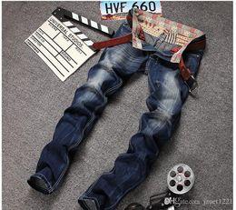$enCountryForm.capitalKeyWord Canada - Ripper Skinny Jeans For Mens Casual Hip Hop Wash Men Jeans Plus Size Straight Pants Jean Pants Homme Scratched Biker Jeans J171102