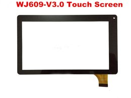 TableT replacemenT screen online shopping - 7 inch Capatitive WJ609 V3 WJ609 V3 Touch screen digitizer replacement tablet pc digitizer MQ50