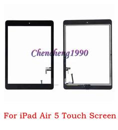StickerS for ipad air online shopping - For Apple ipad ipad air ipad Touch Screen Digitizer Lens Glass with home button adhesive Glue Sticker Replacement Repair