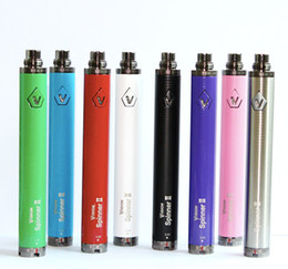 Vision Spinner II eGo Twist Batterie Variable Voltage Batterie 1600 mAh 3.3V-4.8V Vision Spinner 2 pour eGo Atomizer From bestvaporseller
