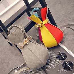 $enCountryForm.capitalKeyWord Canada - Street fashion vase paragraph shoulder bag hand bag small bag fashion color thread cylinder lock buckle women backpack