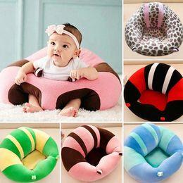 Apoio do bebê Assento de Pelúcia Macia Do Bebê Sofá Infantil Aprendizagem Para Sentar-se Cadeira Manter Sentado Postura Confortável para 0-3 Meses Bebê
