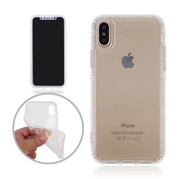 $enCountryForm.capitalKeyWord Canada - For iPhone X 10 Clear Anti Gravity Phone Case Soft TPU Antigravity Rubber Transparent Back Cover Magical Nano Sticky for iPhoneX i10 Shell