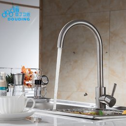 DooDii 304 Stainless Steel No Lead Kitchen Sink Faucet Sink Tap 360 Swivel  Mixer Kitchen Bathroom Faucet