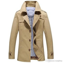 a3a6c359bbd Winter Autumn Men Jacket Windbreaker British Style Mens Trench Coat Long  Coat Male Fashion Overcoat Plus Size 5XL Free Shippping