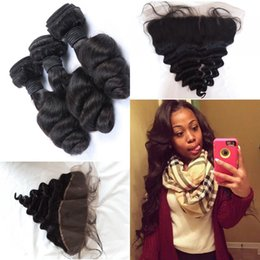 $enCountryForm.capitalKeyWord Canada - Free Shipping 13x4 Free Middle 3 Part Lace Frontals Cambodian Lace Frontal Closure with 3 Bundles loose Wave Cheap Human Hair Weave G-EASY