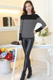 c0333b8131b Women Wearing Leather Pants Canada - One generation with cashmere women wear  black leather pants flash