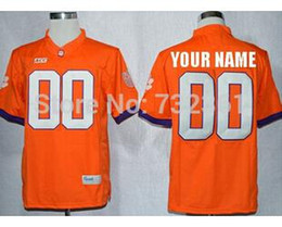 38f60a4ef65 Factory Outlet- Free Shipping Custom stitched Football Jersey Personalized  Clemson Tigers Jersey College Football Jersey Color Blue White Or