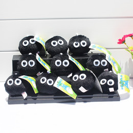 videos free 2018 - My Neighbor Totoro Fairydust Plush Toy Doll with Ring Soft Stuffed Doll 10pcs lot Free Shipping discount videos free