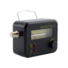 Цифровой Satfinder с ЖК-дисплей зуммер ТВ спутниковый Искатель метр спутниковый сигнал Искатель метр тестер ТВ Приемник Оптовая