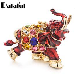 3d crystal keyring online shopping - beijia D Auspicious Elephant Key Holder Chains Whole Enamel Colorful Crystal Bag Pendant Keyrings KeyChains For Women K280