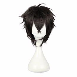 $enCountryForm.capitalKeyWord UK - Mcoser 30cm Short Cosplay Wig Synthetic Japanese Black 100 %High Temperature Fiber Hair 5 Styles Color Free Shipping Wig -339