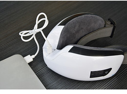 Wholesale Wireless Digital Eye Massager with Heat Compression Air Pressure Music Eye Care Stress