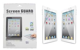 Protecteur d'écran LCD Clear Screen Mat Film Protection Guard avec le paquet de détail pour Ipad mini 3 4 Ipad 2 3 4 5 6 air 2 Ipad Pro 9.7 10.5