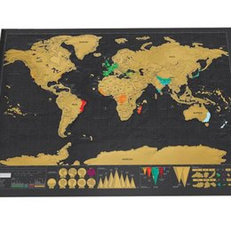 Scratch off world map poster online scratch off world map poster 825x594cm deluxe vintage travel scratch map personalized world scratch map scratch off foil layer coating poster wall stickers gumiabroncs Image collections