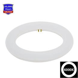 Vente en gros Remplacement de la lumière du jour 6000K d'ampoule de Circline 12W T9 LED de 9 pouces pour le FC9T9 fluorescent sans éclairage circulaire de tube de tube d'anneau de ballast