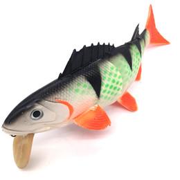 $enCountryForm.capitalKeyWord UK - Weiyu 26.5cm 200g 3D Eyes Soft Bait Swim Bait with Double Hooks Fishing Tackle Jig Lead Fish Shape