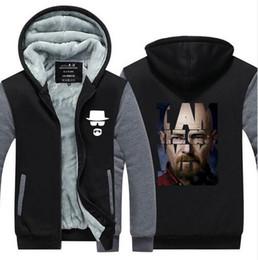 Broken Bad Canada - New Breaking Bad Heisenberg Hoodies Men Walter White Cook BETTER CALL SAUL Los Pollos Jacket USA size Plus size